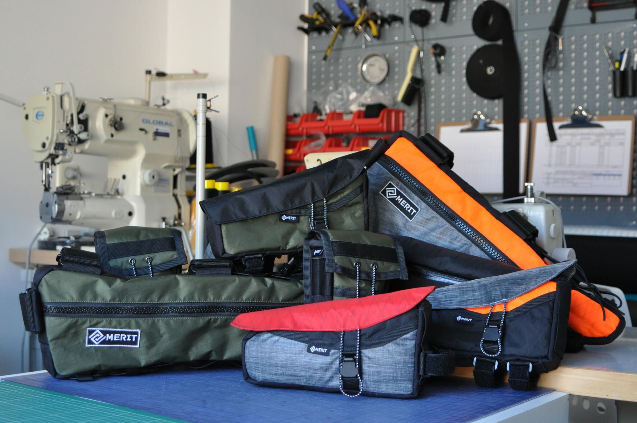 Custom bikepacking tassen